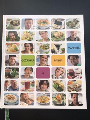Livro Cozinhar à Minha Maneira