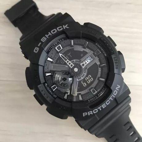 Zegarek Casio G-Shock GA-110 razem z pudełkiem.