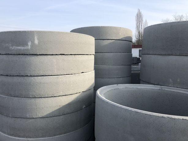 Kręgi betonowe, krąg, studnia, zbiornik na deszczówkę