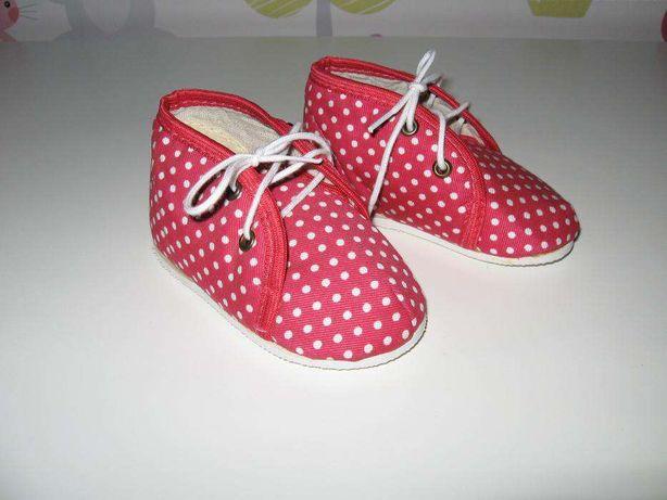 Nowe buciki dla maluszka