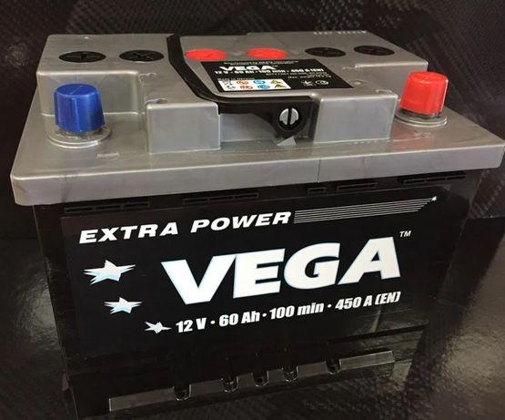 Dzierzkowice - Akumulator Vega 12V 60Ah 450A Bezobsługowy PROMOCJA