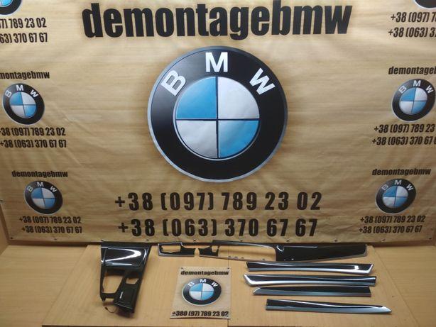 декор салону BMW F10 F11 дерево БМВ Ф10 Ф11 шрот разборка розборка