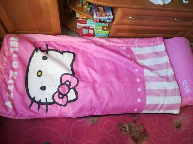Sprzedam śpiwór materac łóżko hello Kitty