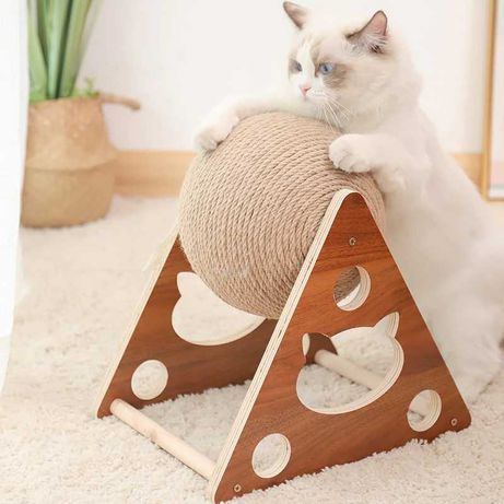 Drapak dla kota ; Kula 20cm ;  wyjątkowy w unikalnym stylu!