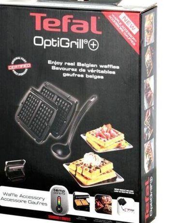 Пластини для вафель Tefal XA723812 + черпачок для тіста на OptiGrill+