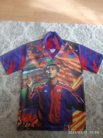 Koszulka Romario 10 FC Barcelona unikatowa oldschool