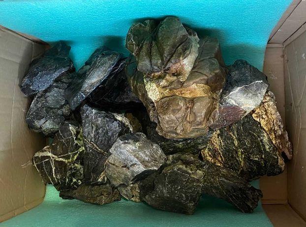 Kamienie do akwarium szara skała grey mountain