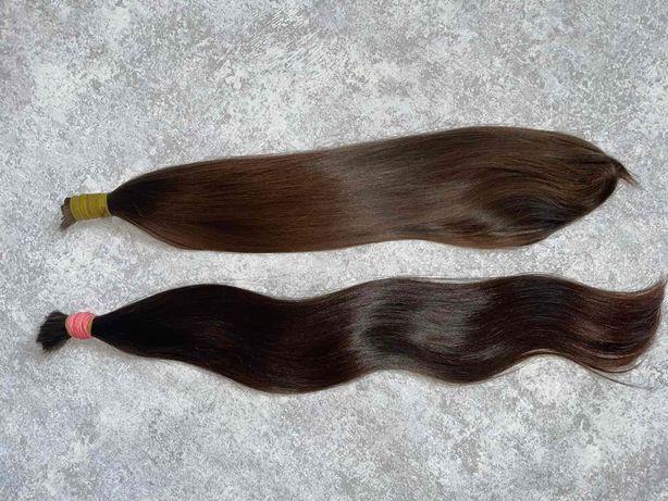 Натуральные славянские волосы для наращивания 55 и 55-60см