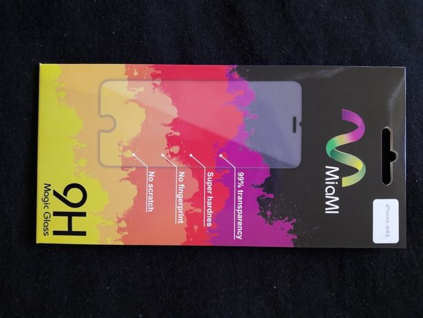 Нове захисне скло на Іphone 4-4s