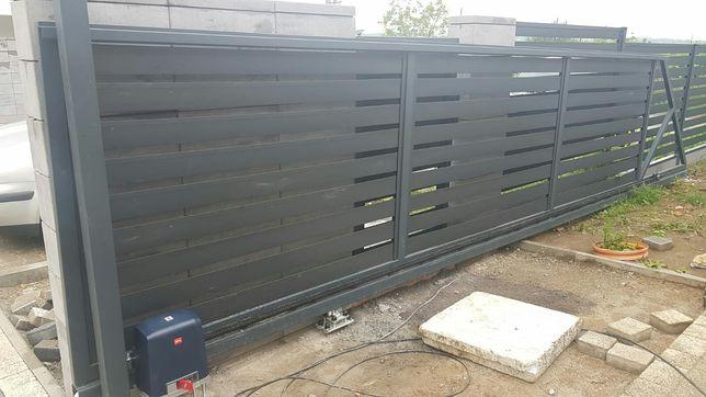 Ogrodzenia wiaty bramy