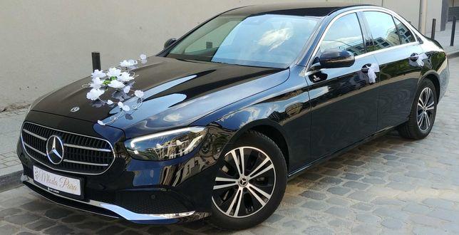Auto do ślubu wynajem Mercedes limuzyna wesele samochód do ślubu