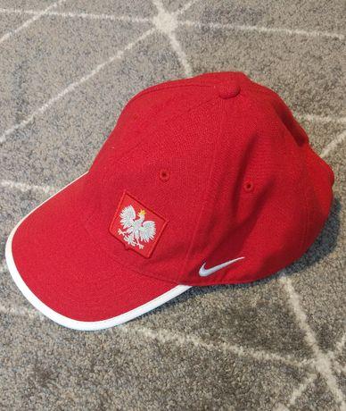 Czapka z daszkiem czerwona Nike Reprezentacja Polska