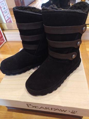 Зимние высокие ботинки угги bearpaw luna 7m непромокаемые США