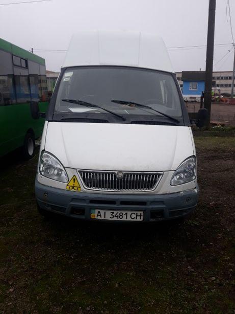 Микроавтобус-D ГАЗ 32213-224. 2004 года выпуска