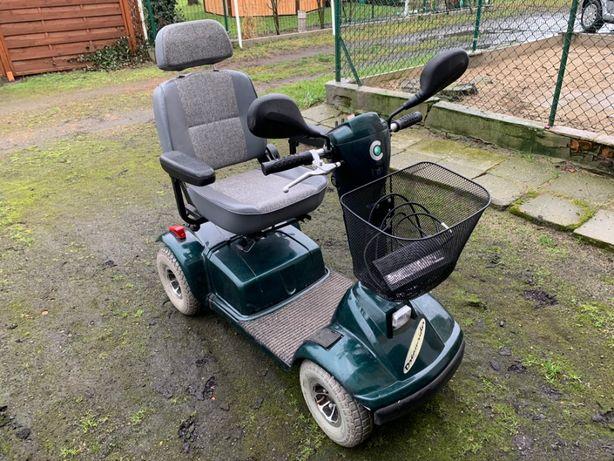 Skuter-wózek inwalidzki, zadbany, mało używany, nowe akumulatory