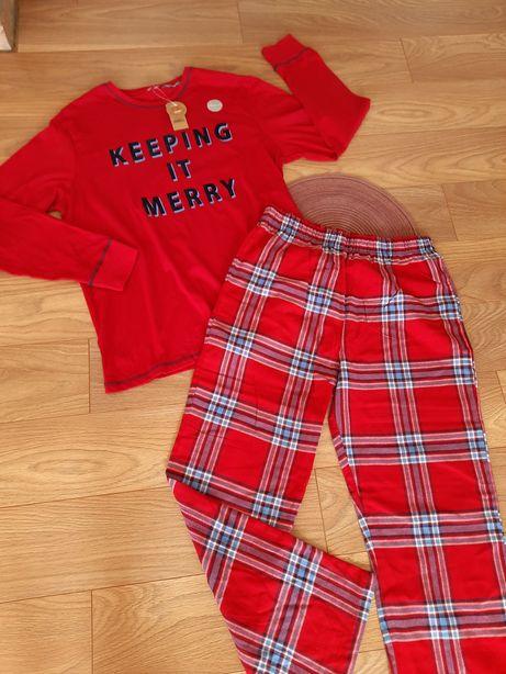 мужская стильная пижама george s m l xl хлопок