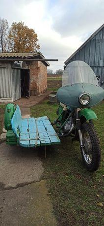 Продам мотоцикл в селе Лукьяновка