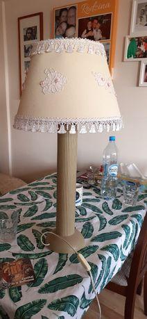 lampa z rurek i do sypialni