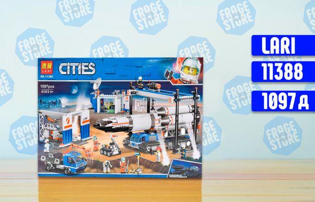 """Конструктор Bela City 11388 """"Площадка и транспорт для ракеты"""", 1097 д."""