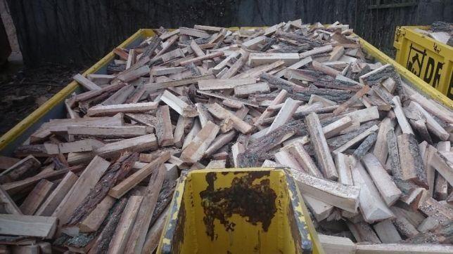 Drewno opałowe, kominkowe - zrzyny DĘBOWE