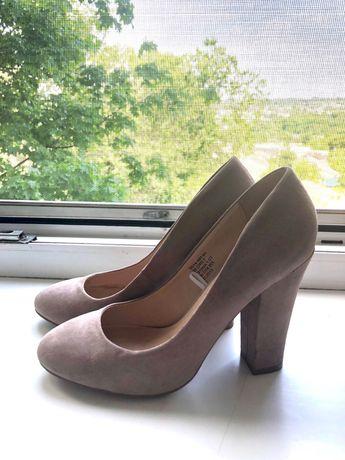 Базовые замшевые туфли Centro