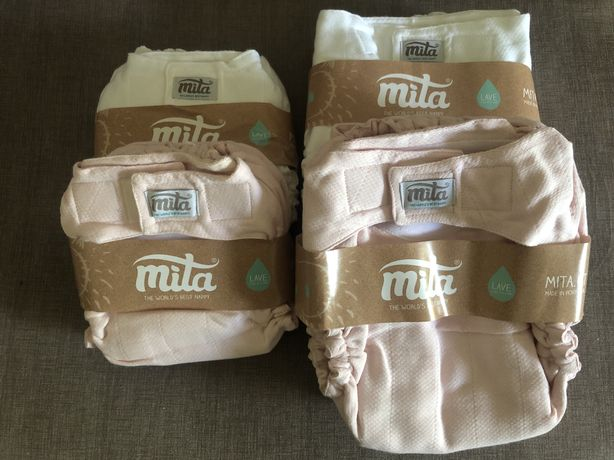 Fraldas reutilizáveis ajustadas mita
