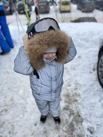 Зимний комбинезон glamour kids