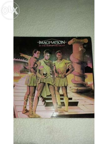Disco LP Vinil Imagination - In The Heat of The Night 1982