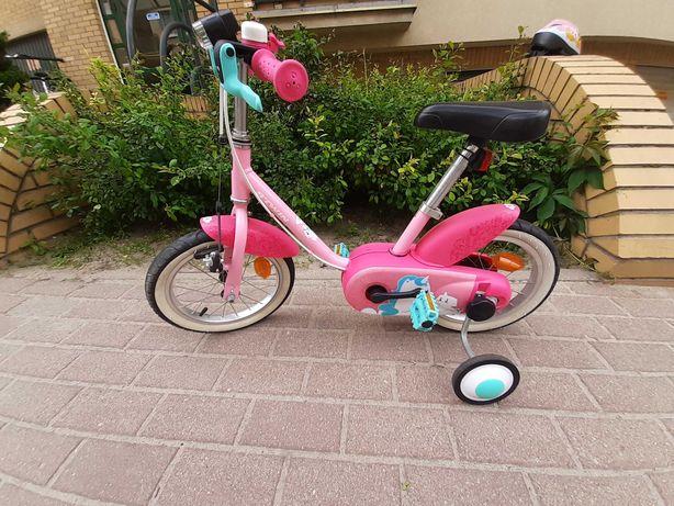 "Rower dziecięcy 14"" + gratis"