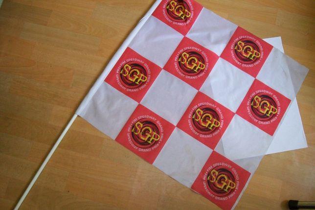 flaga chorągiew kibica żużel SPG sim speedway grand prix