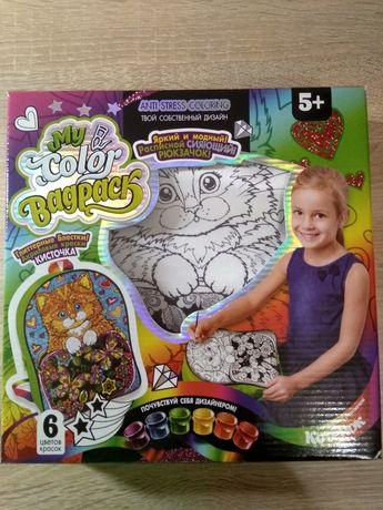 Рюкзак для малювання, сумка (bagpack) іграшка