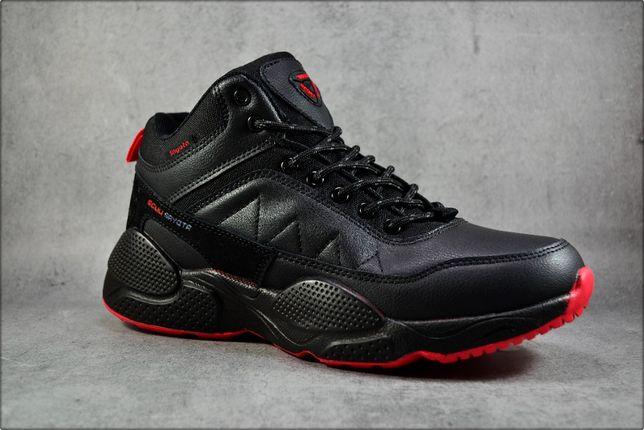 Зимние кроссовки RxB Black Winter, Зимние ботинки