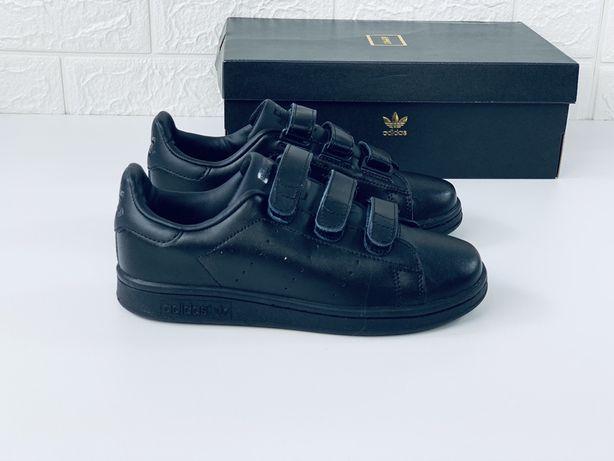 Женские кроссовки Adidas Stan Smith на липучке адидас стен смит стан