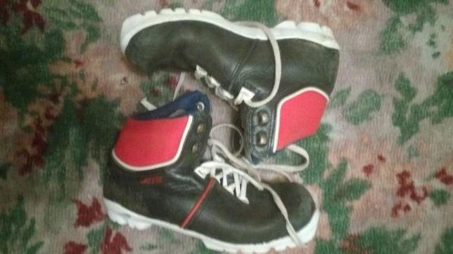buty do narciarstwa biegowego Jette system NNN wkładka około 22 cm