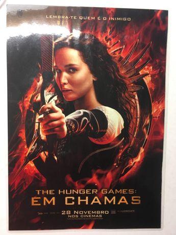 Poster A4 - Hunger Games / Jennifer Lawrence