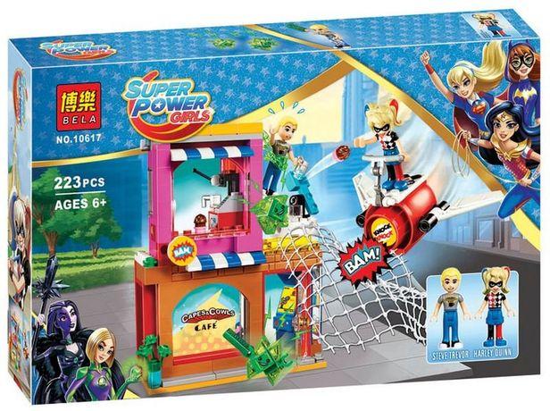 Конструктор BELA 10617 Харли Квин 217 шт Lego 41231 DC Super Hero Girl