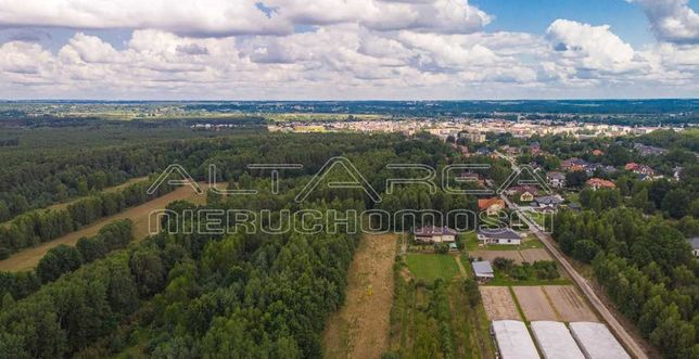 Działka budowlana o pow. 1200 m2 gm. Białobrzegi