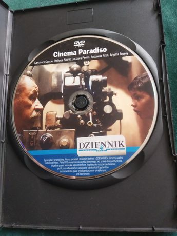 Cinema Paradiso film na DVD klasyk