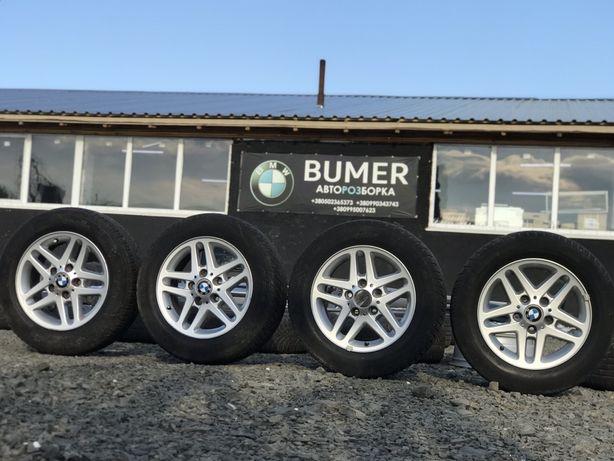 Диски BMW e46 R15 195/65 Р15 Титаны БМВ Е46 Шрот Разборка