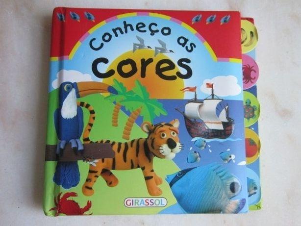 livro didático Conheço as cores e o meu mundo