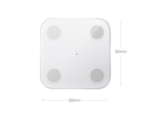 Смарт умные весы Xiaomi Mi Body Scale 2 поколение продвинутых весов