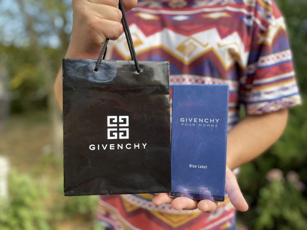 Givenchy Pour Homme Blue Label 100 мл мужские духи