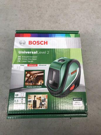 OBI Laser liniowy Universal Level 2 Bosch! Obniżka z 469 na 234,80 zł