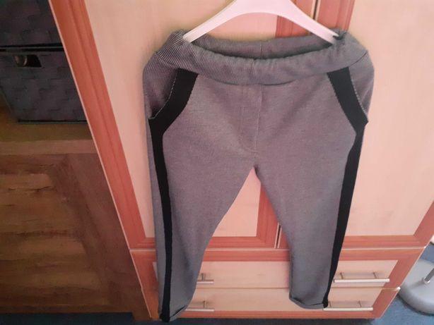 Spodnie dziewczęce 146