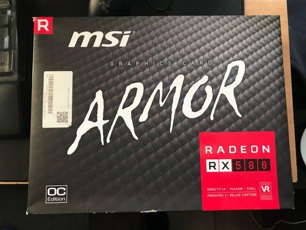 Karta graficzna MSI Radeon RX 580 ARMOR OC 8 GB GDDR5