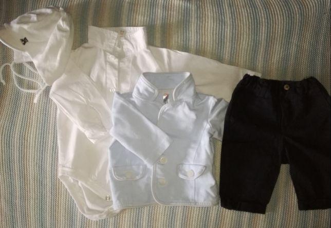 Ubranko dla chłopca r.68 (chrzest, inne uroczystości) COCCODRILLO