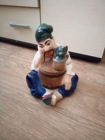 фарфоровая статуэтка Козак