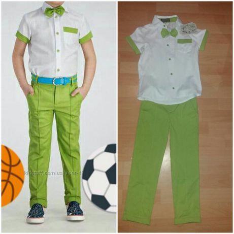 Літній костюм на хлопчика зелений