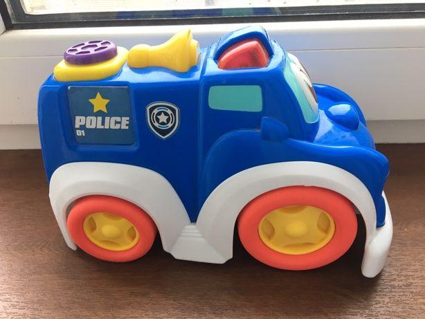 Машинка полицейская Keenway с музыкальными эффектами