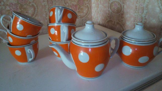 Чайный сервиз СССР на 6 персон.
